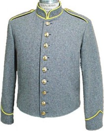 Civil War C.S. Richmond Depot Enlisted and NCO Shelljacket, Type I