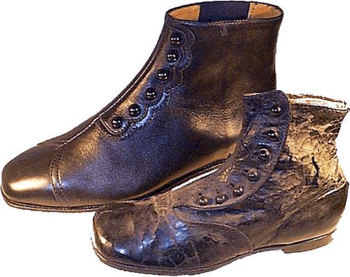Th Century Men Shoe English