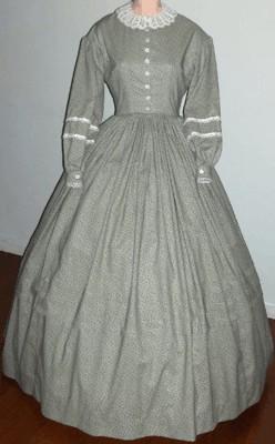 Civil War Ladies Dresses
