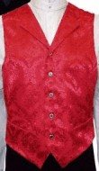 Civilain Single Breasted Notched Collar Vest, 19th Century (1800s) Men's Clothing