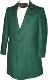 Civilian Frockcoat in Forest Green, 19th Century (1800s) Clothing