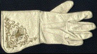 Civil War officers embroidered gauntlets, Cavalry