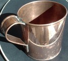 copper cup, 28 ounce (1800s/19th Century)