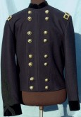 Civil War General Officers Shell Jacket with Sleeve Braid - Brigadier General, American Civil War Military Uniforms