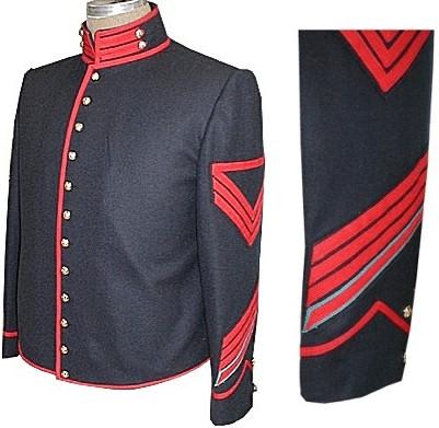 U S Enlisted Civil War Uniform Shelljacket And Roundabout