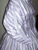 1850s - 1860s Day Dress. Simplicity Pattern 4400, 19th Century (1800s) Clothing