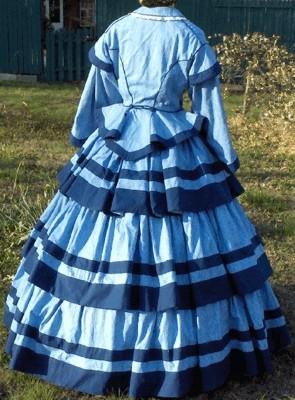 Antebellum Hoop Dresses