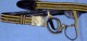 General Officer's (3-Row) Dress Sabre Belt
