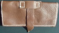 wallet, leather 3 fold