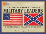 Union and Confederate Military Leaders playing cards, 1862