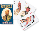 Native Americans playing cards, deck 2