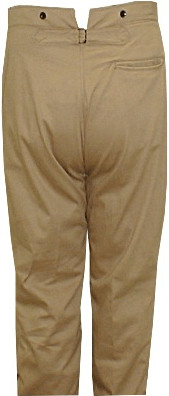 US Army M1885 Brown Canvas Trousers size 46